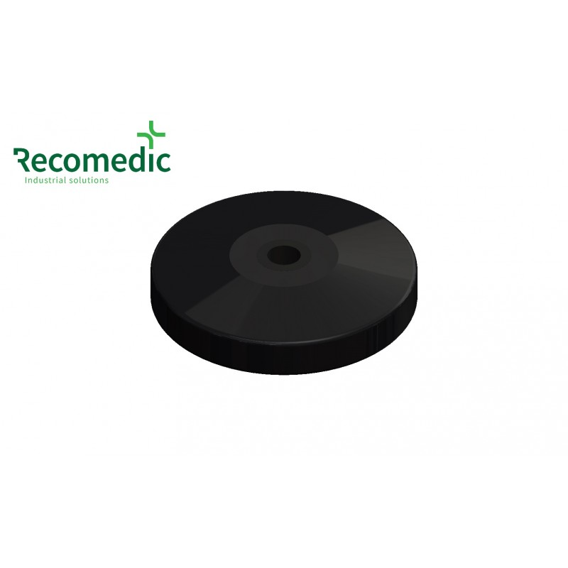 bumper wheel 100/12.5mm, RAL9005