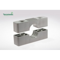 tube clamp, bearing half 36mm