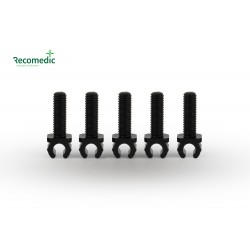 cable holder M5x13, on line 5mm