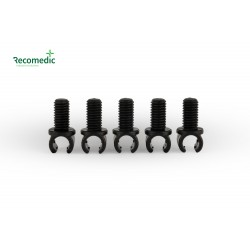 cable holder M5x9, on line 5mm