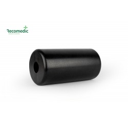 roller PU 100x200x30mm, black smooth