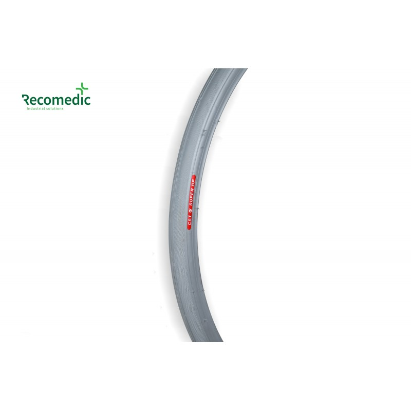 tyre 20x1, grey, smooth