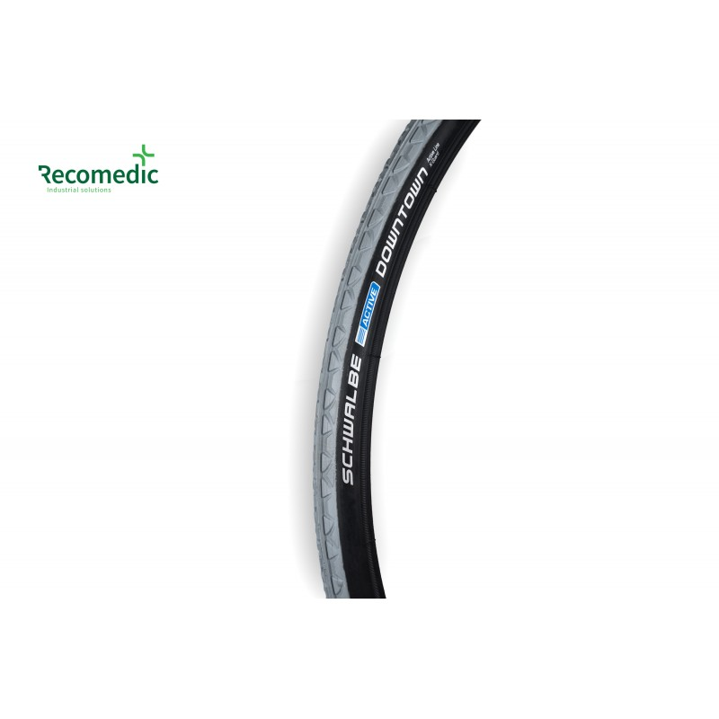 tyre 24x1 DownTown grey-black